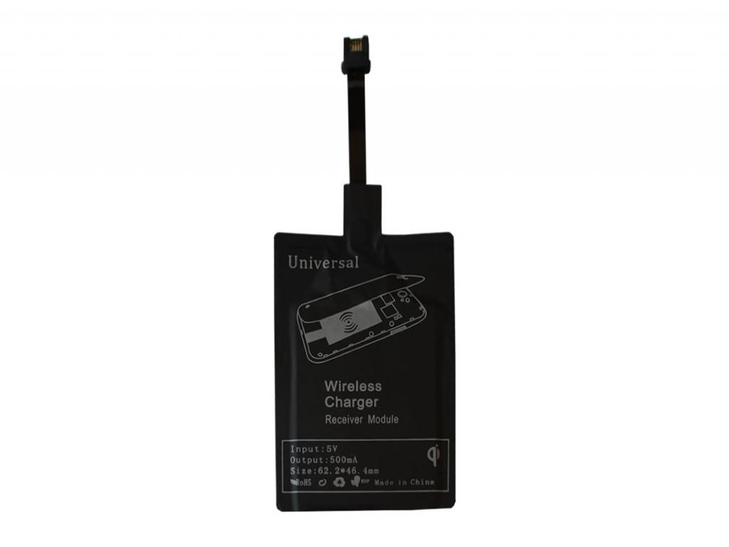 Qi Draadloze ontvanger voor Realme X50 5g  | zwart | Realme