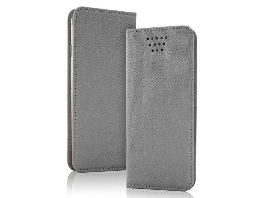 Smart Magnet luxe book case Motorola Moto g 2014 | grijs | Motorola