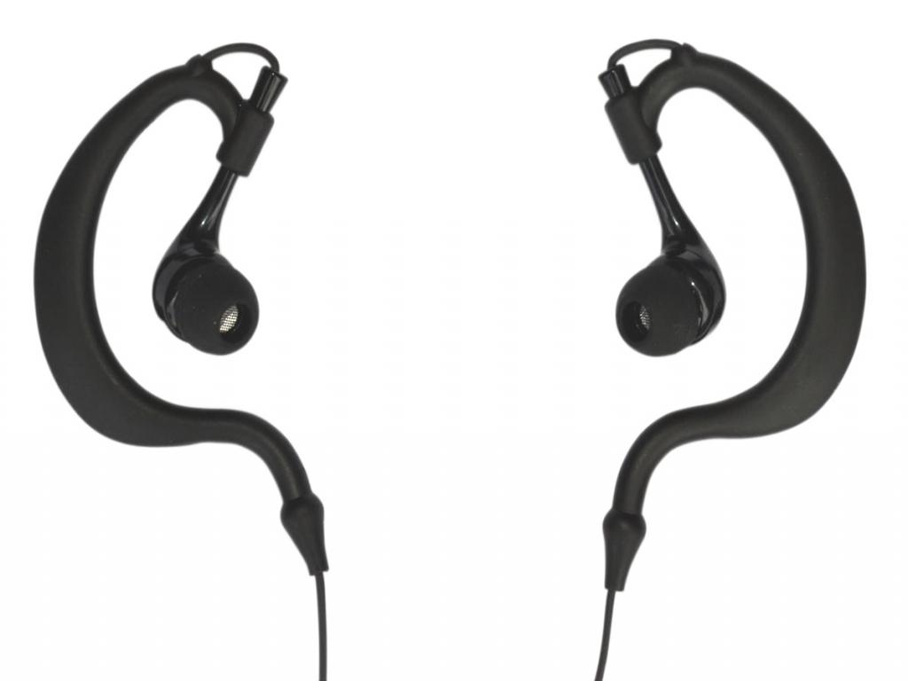 Oordopjes voor Amplicomms Powertel m6700i  Waterproof | zwart | Amplicomms