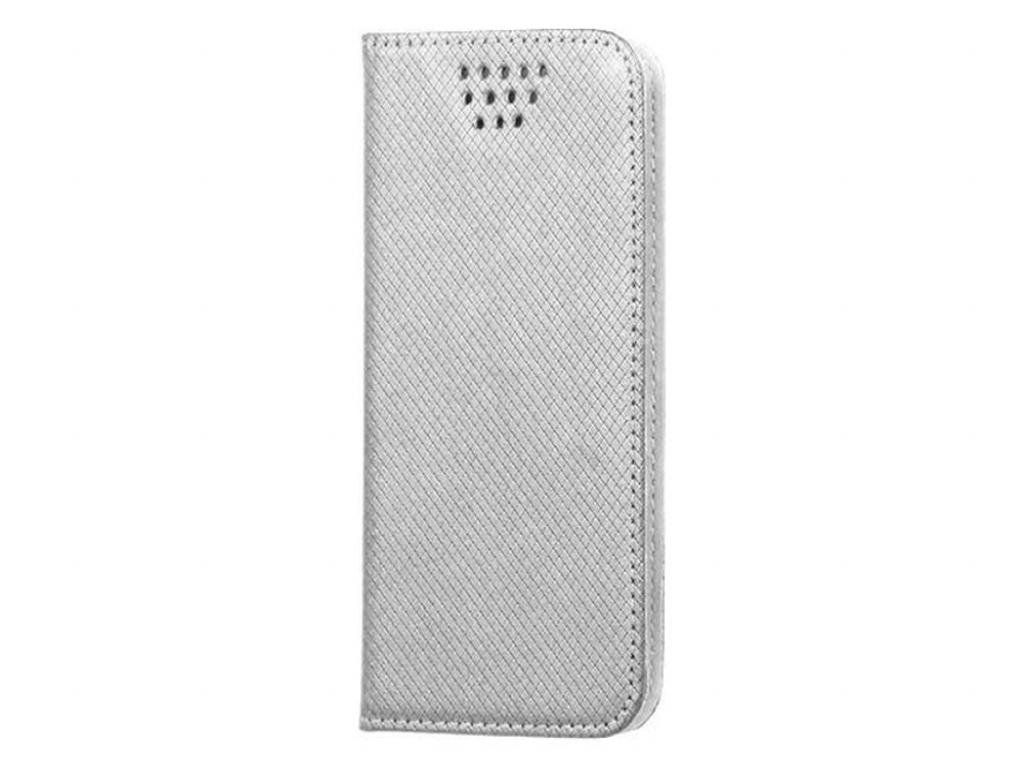 Smart Magnet luxe book case Samsung Galaxy j1 mini 2016 | zilver | Samsung