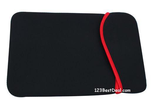 Neoprene Sleeve | Geschikt voor een Microsoft Surface pro 7 | zwart | Microsoft