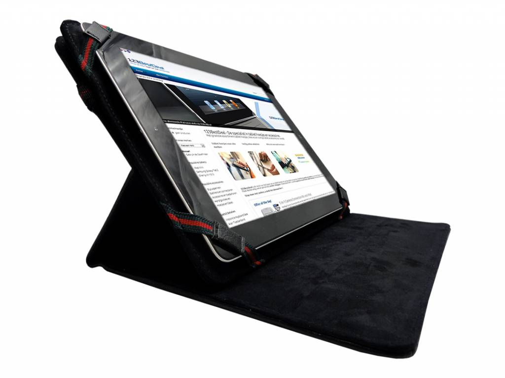 Dserve Dsrv 9708c   Premium Hoes   Cover met 360 graden draaistand   zwart   Dserve