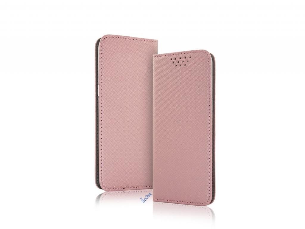 Smart Magnet luxe book case Zte Nubia z17 minis | rose goud | Zte