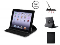 360 degrees rotatable hardshell case for the Apple Ipad 3