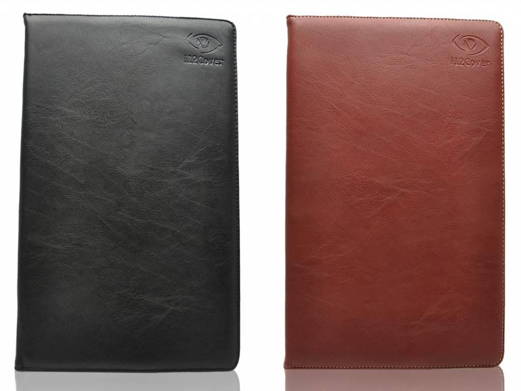 Universele 10 inch Premium Tablet hoes, verkrijgbaar in de kleur zwart en bruin voor de Terra Pad 1051
