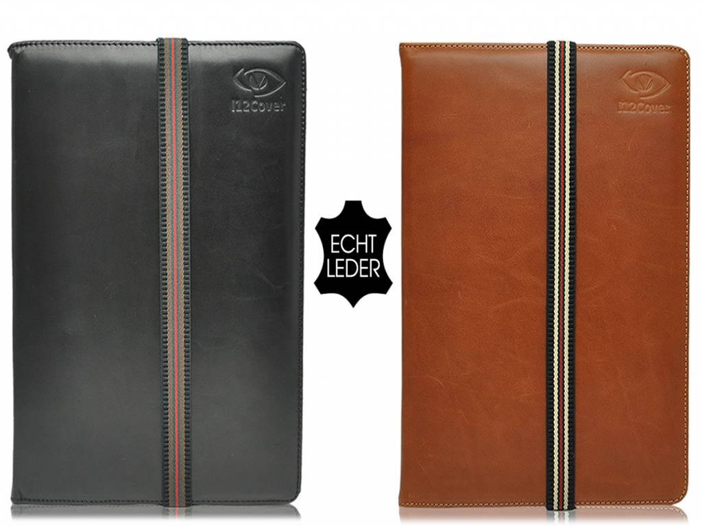 Universele 10 inch Echt Lederen Tablet hoes, verkrijgbaar in de kleur zwart of bruin voor de Universal 10.1 inch