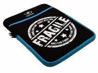 Universele 9.7 inch Neopreen Sleeve met Fragile opdruk
