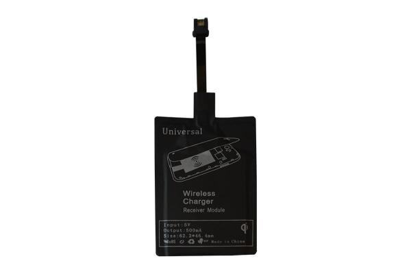 Qi Ontvanger met Micro USB aansluiting voor Icarus Omnia m703bk