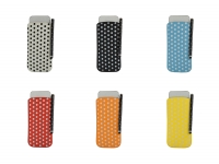 Polka Dot Hoesje incl. Stylus pen voor Fujitsu Arrows kiss f 03d