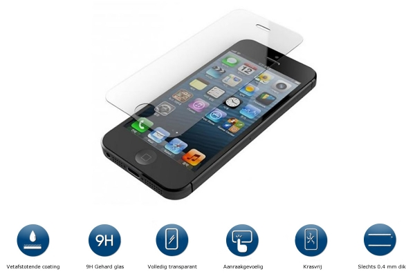 Explosion Proof Glass Screen Protector for Iphone 5