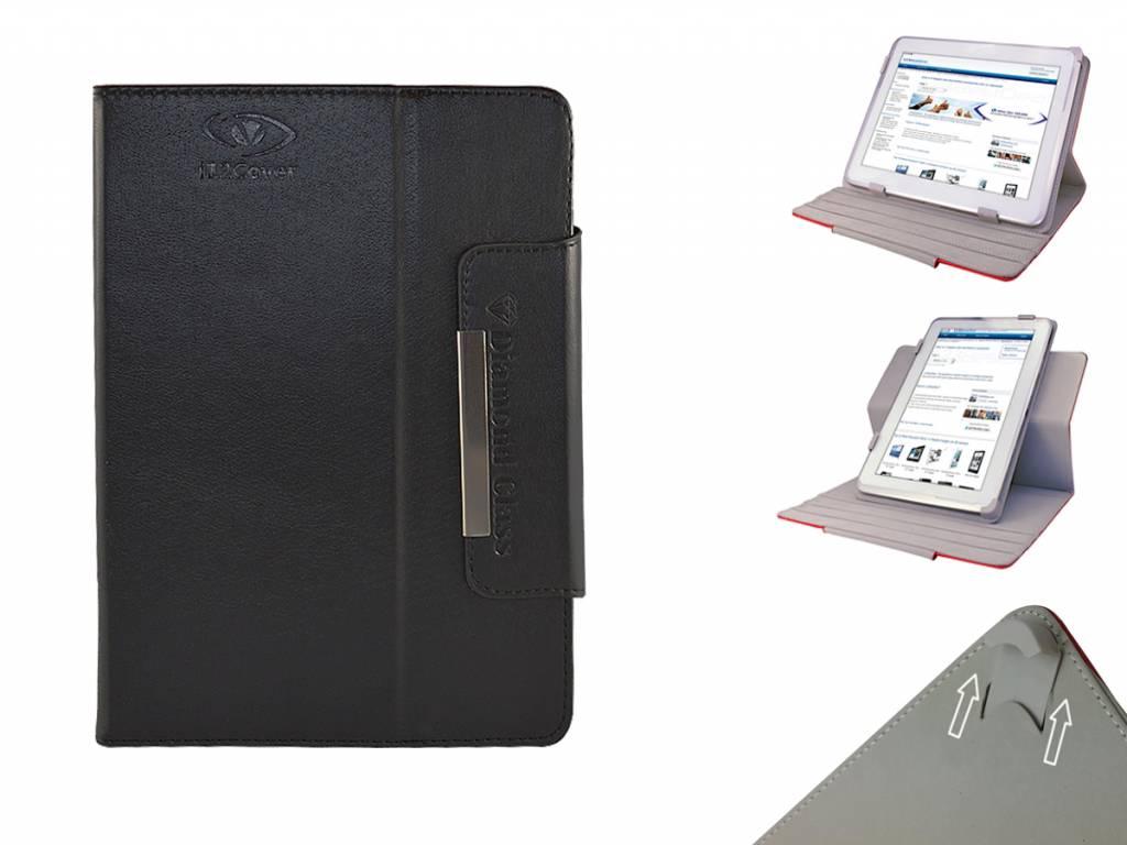 Universele 7 inch Diamond Class Case met 360 graden draaibare Multi-stand voor Qware Tabby 7 inch