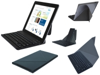 Slim Deluxe Bluetooth Keyboard Qware Pro4 hd 8 inch