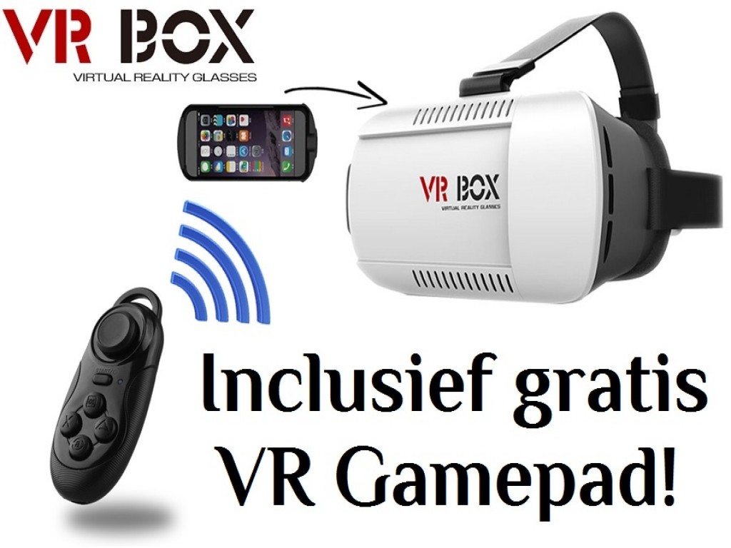 VR Bril Virtual Reality 3D bril voor General mobile Discovery 2