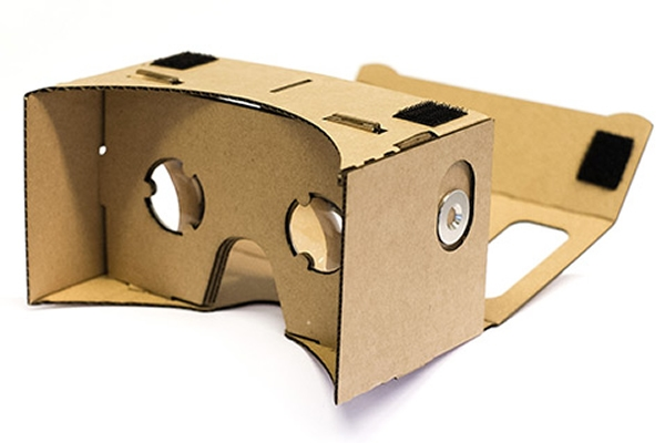 VR Google Cardboard Pro XL voor General mobile Andriod one gm6