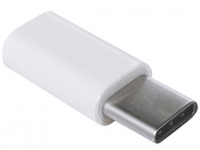 Verloopstekker Female Micro USB naar Male USB-C voor General mobile Android one gm5 plus