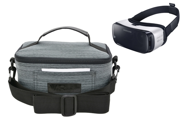 Premium Case Bag for VR 3D glasses like Samsung Gear VR (Lite), VR PRO en VR BOX etc case