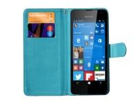 Luxe Book Wallet Case voor Fairphone Smartphone blauw