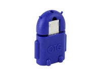 Android robot female USB to micro USB  male voor Barnes noble Galaxy tab 4 nook