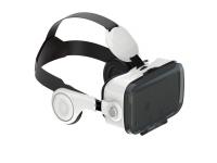 VR PRO versie 2.0 3D VR Bril met ge�ntegreerde koptelefoon voor Wiko Wax