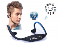 Bluetooth Sport In-ear koptelefoon voor Barnes noble Galaxy tab 4 nook