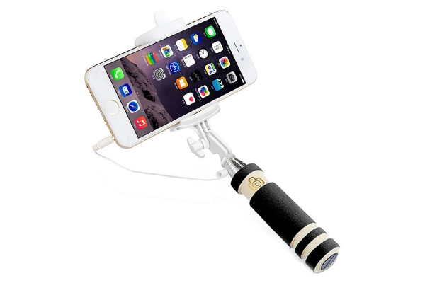 Compacte Mini Selfie Stick Whoop Echo