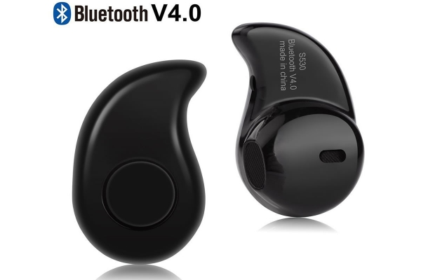 Compacte Bluetooth Sport In-ear headset voor Barnes noble Nook glowlight plus