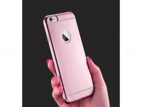Rose goudkleurig Siliconen Hoesje voor de Apple Iphone 7