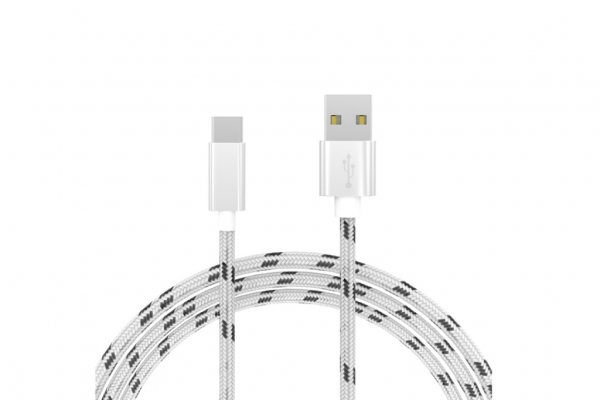 USB C kabel stof 3m voor Xiaomi Mi mix