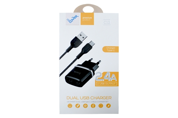 USB charger 2400mA Samsung Galaxy s20 including USB-C cable
