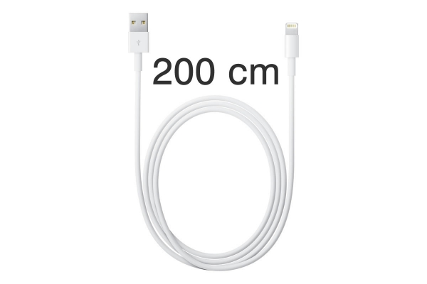 Lightning naar USB kabel (2 m) voor Iphone 7 plus