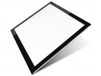 Professionele versie A4 LED licht Lichtbak / Tekentafel / Lichttafel / Lightpad / Lichtbox / Lightbox met 3 dimbare lichtstanden, o.a. voor Diamond Painting, fotografie, tekenen, tattoo etc