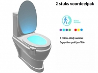 Toilet LED verlichting voordeel