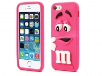 M&M case Iphone 7 hot pink