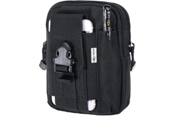 Waterproof Nylon Waistbag for smartphones and other