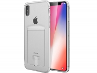 Smart TPU Wallet Case transparant voor Apple Iphone x