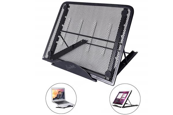 Laptop standaard, verstelbaar en inklapbaar, 13.3 inch
