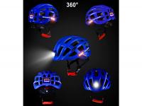 MTB helm+verlichting