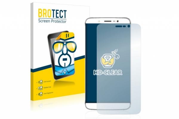 2x Brotect HD-Clear Screenprotector Realme 5 pro