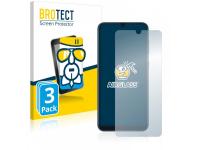 3 stuks voordeelverpakking : Extra Gehard glazen screenprotector voor Cat B25.