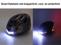 Smart helm met licht | E-bike  | Fietshelm met verlichting >> ingebouwd voor- en achterlicht, richtingsaanwijzers