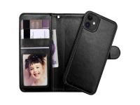 Luxe Iphone 11 Wallet Case met uitneembare houder