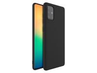 Hoesje voor Samsung Galaxy a71 in luxe zwart TPU materiaal