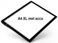 Lightpad A4 Pro oplaadbaar met accu, LED lichtpaneel