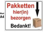 Pakket instructiebord A4