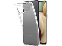 Transparant hoesje voor Samsung Galaxy A12 van luxe TPU