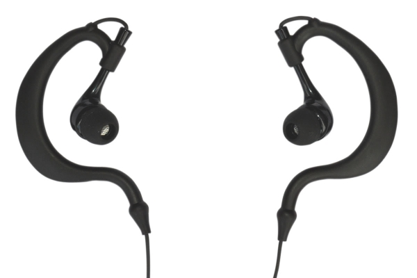 In-ear Earphones with flexible earhook