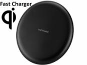 QI Wireless Fast Charger for compatible smartphones,