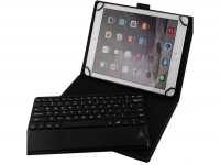 Uitneembaar Bluetooth Keyboard Case voor Barnes noble Galaxy tab 4 nook 10.1