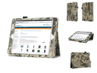 Stand Case for the Apple Ipad mini retina with camouflage print