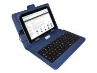 Blauwe Keyboard Case voor Viewpia Tb 107 Tablet